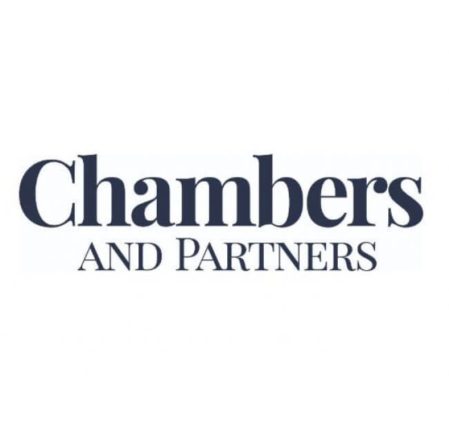 Ranked and recognised by Chambers & Partners