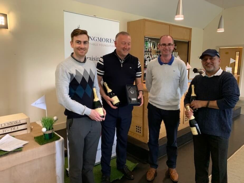 Golfers raise £1,555 for charity
