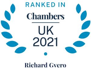Richard Gevro Chambers UK 2021