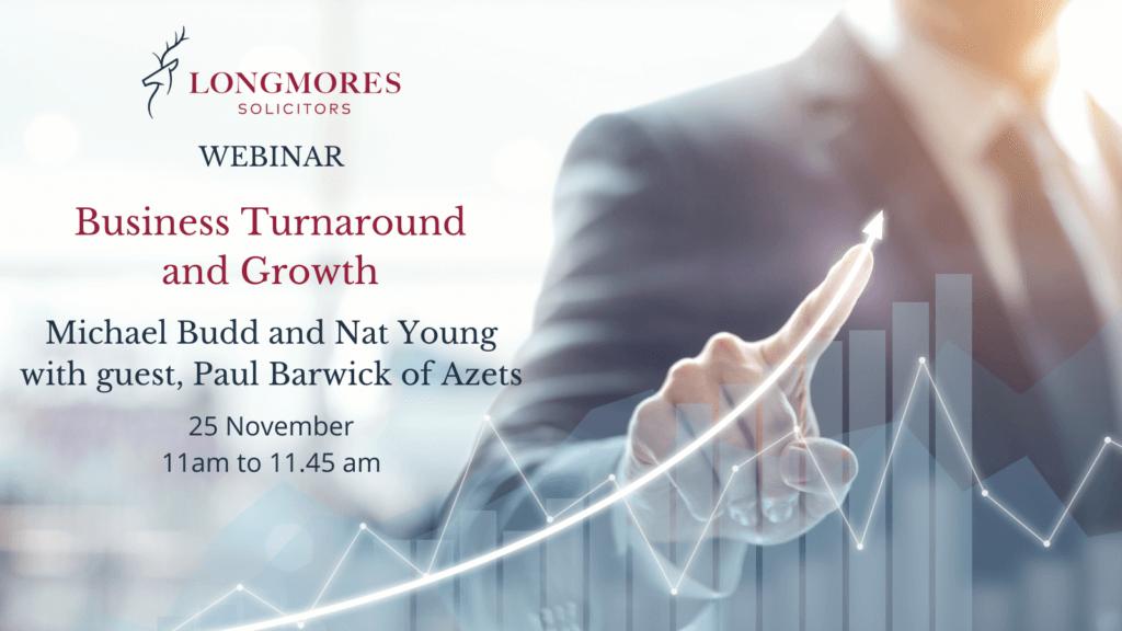 Business Turnaround and Growth (25 November)