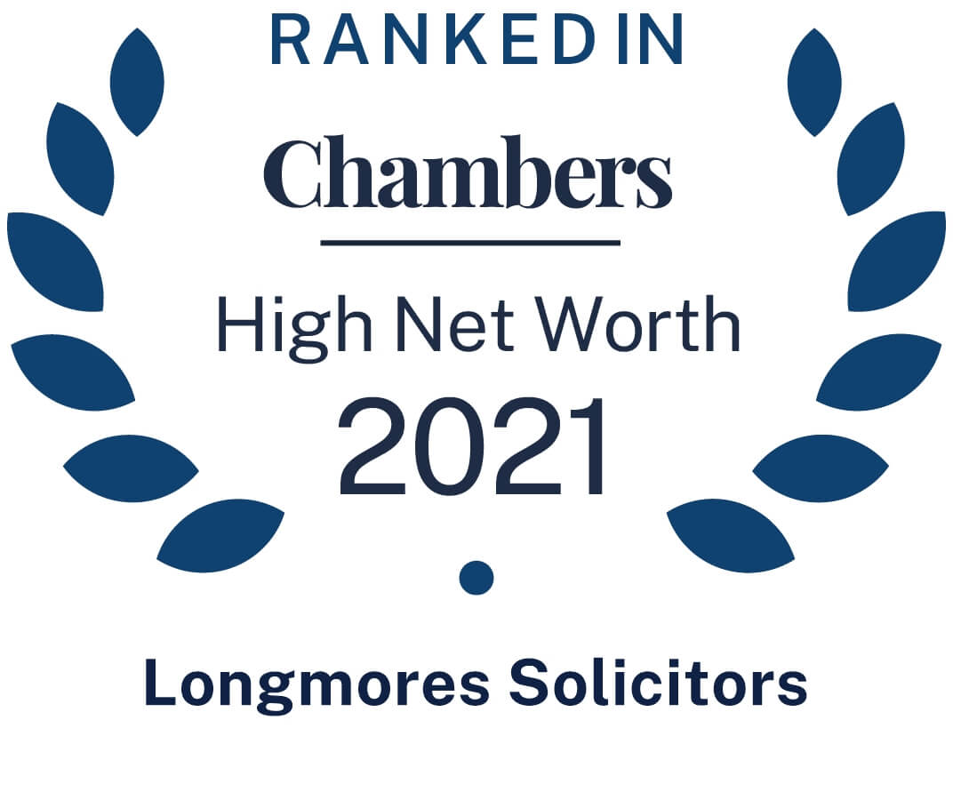 Ranked in Chambers High Net Worth 2021 Guide